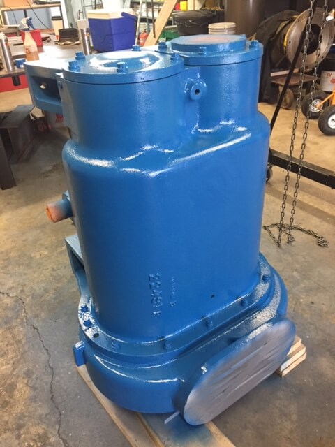 United Compressed Air Inc.'s Latest Air End Rebuild